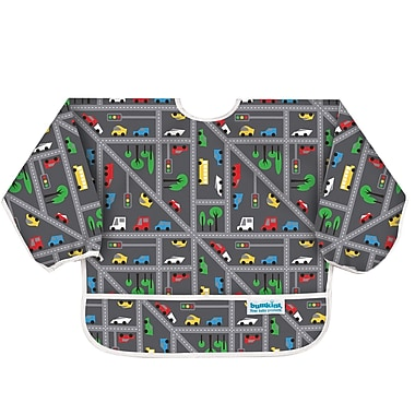 Bumkins Sleeved Bib, Traffic