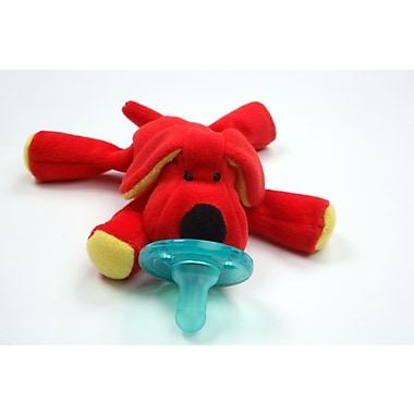 WubbaNub Infant Pacifier, Red Dog