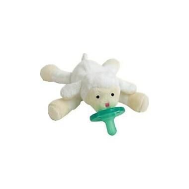WubbaNub Infant Pacifier, Little Lamb
