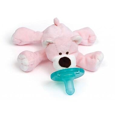 WubbaNub Infant Pacifier, Pink Bear