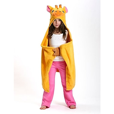 Zoocchini Toddler Towel, Jamie the Giraffe