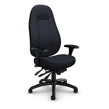 Global Obusforme Comfort High Back Multi Tilter, 'Oxygen-Nero' Fabric, Black