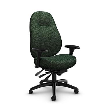 Global Obusforme Comfort 24 Hour Mid Back Multi Tilter, 'Oxygen-Verde' Fabric, Green