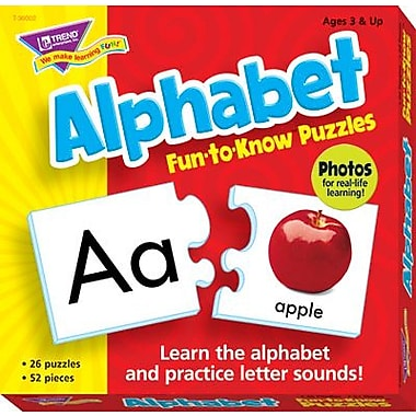 TREND Alphabet Fun-to-Know® Puzzle