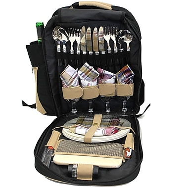 Cathay Importers 4 Person Picnic Backpack