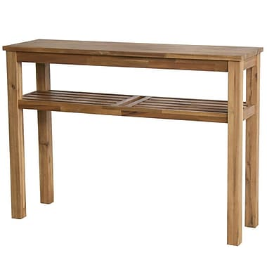 Cathay Importers Acacia Wood Console Table, 43
