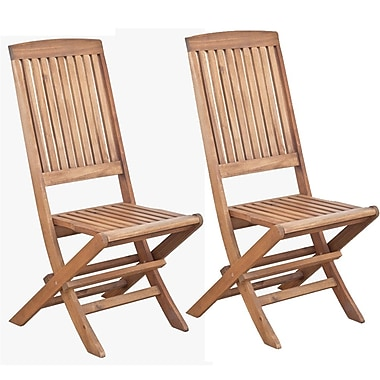 Cathay Importers Acacia Wood Side Chair, 19