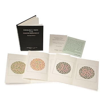 Graham Field Ishihara® Test Chart Books for Colour Deficiency