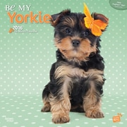 "2016 BrownTrout Publishing Dog Breeds 12"" x 12"" Square By Myrna - Be My Yorkie (9781470000000)"