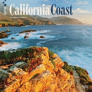 """2016 BrownTrout Publishing American States 12"""" x 12"""" Square California Coast (9781470000000)"""