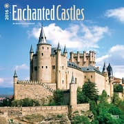 "2016 BrownTrout Publishers Travel and Scenic 12"" x 12"" Square Enchanted Castles (9781470000000)"