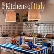 "2016 BrownTrout Publishing Home and Garden 12"" x 12"" Square Kitchens of Italy (9781470000000)"