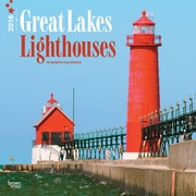 "2016 BrownTrout Publishing America Regional12"" x 12"" Square Lighthouses, Great Lakes (9781470000000)"