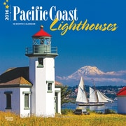 "2016 BrownTrout Publishing America Regional 12"" x 12"" Square Pacific Coast Lighthouses (9781470000000)"
