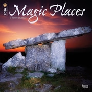 "2016 Browntrout Publishers Travel and Scenic, 12"" x 12"", Square, Magic Places (9781470000000)"
