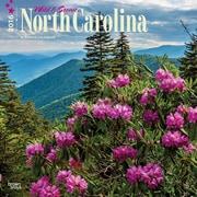 "2016 BrownTrout Publishing American States 12"" x 12"" Square North Carolina, Wild & Scenic (9781470000000)"