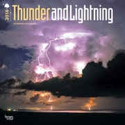 "2016 BrownTrout Publishing Science and Nature 12"" x 12"" Square Thunder and Lightning (9781470000000)"