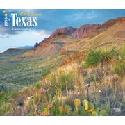 "2016 Browntrout Publishers American States, 12"" x 14"", Deluxe, Texas, Wild & Scenic (9781470000000)"