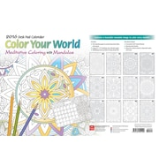 2016 COLOR YOUR WORLD DESK PAD
