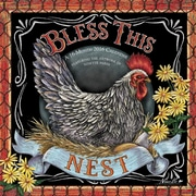"2016 BrownTrout Publishing Home and Garden 12"" x 12"" Square Bless This Nest (9781770000000)"