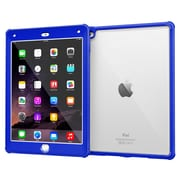 rOOCASE Glacier Tough TPU Armor Case Cover for iPad Air 2, Palatinate Blue
