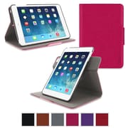 rOOCASE Orb Leather 360 Deg Rotating Dual-View Folio Smart Case Cover for iPad Mini with Retina Display, Magenta