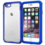 "rOOCASE Glacier Tough Clear Back Full Body Armor Case Cover for 4.7"" iPhone 6, Palatinate Blue (RC-IPH6-4.7-GT-BL)"