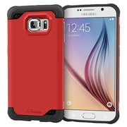 rOOCASE Exec Tough Slim Fit Armor Case Cover for Samsung Galaxy S6, Testarossa Red (RC-SAM-S6-ET-RD)