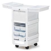 """Brandt 16"""" Medical Cart, Polystyrene, Gloss White (30820)"""