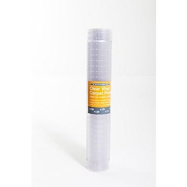 ES Robbins – Tapis de corridor en vinyle strié, 36 x 10 pi, crampons