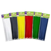 "Chenille Kraft CK711001 Assorted Chenille Stems, 12"", 100/Pack"
