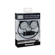 Panasonic RP-HC101-K SLIMZ Stereo On-Ear Headphone, Black