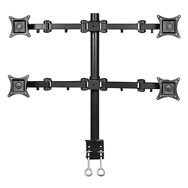 SIIG CE-MT0S12-S1 Quad Desk Mount for 13 - 27