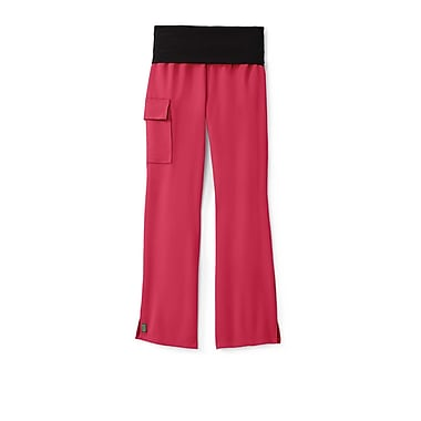 Medline Ocean ave Women Medium Petite Scrub Pants, Pink (5560PNKMP)