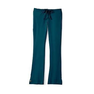 Medline Melrose ave Women Small Tall Scrub Pants, Caribbean Blue (5580CRBST)