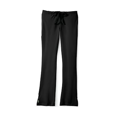 Medline Melrose ave Women Small Tall Scrub Pants, Black (5580BLKST)
