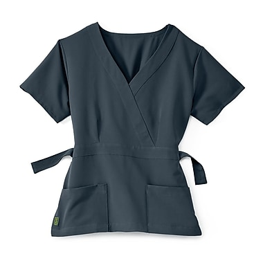 Medline Park ave Women Medium Scrub Top, Charcoal (5587CHRM)