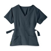 Medline Park ave Women 3XL Scrub Top, Charcoal (5587CHRXXXL)