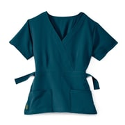 Medline Park ave Women Medium Scrub Top, Caribbean Blue (5587CRBM)