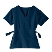 Medline Park ave Women 3XL Scrub Top, Navy (5587NVYXXXL)