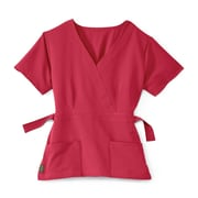 Medline Park ave Women XS Scrub Top, Pink (5587PNKXS)