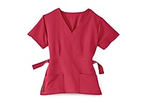 Medline Park ave Women Medium Scrub Top, Pink (5587PNKM)
