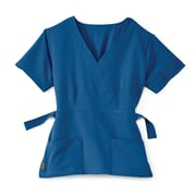Medline Park ave Women Medium Scrub Top, Royal Blue (5587RYLM)