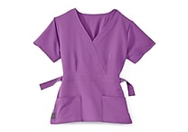 Medline Park ave Women Medium Scrub Top, Purple (5587PPLM)