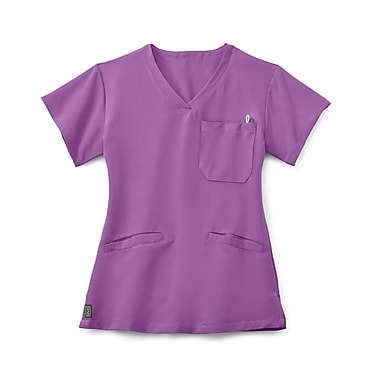 Medline Berkeley AVE. Women Large Scrub Top, Purple (5582PPLL)