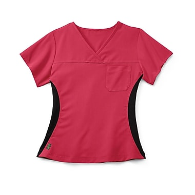 Medline Michigan ave Women XL Scrub Top, Pink (5564PNKXL)