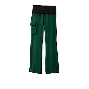 Medline Ocean ave Women Small Yoga Scrub Pants, Hunter (5560HTRS)