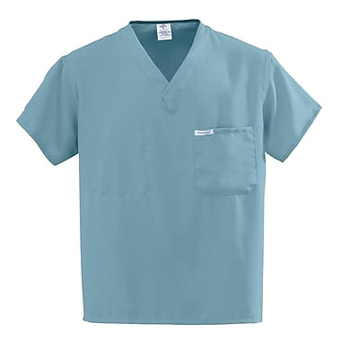 Medline PerforMAX Unisex 3XL One-Pocket Reversible Scrub Top, Misty Green (810NTZXXXL-CM)