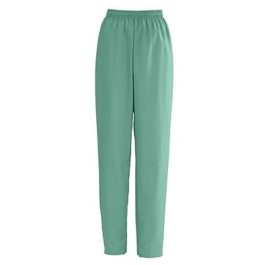 Medline AngelStat Women Large Elastic with Draw Cord Scrub Pant, Jade (854NTJL)