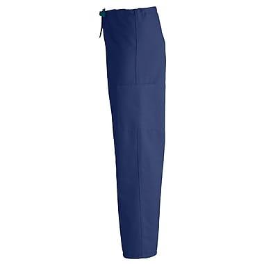 Medline ComfortEase Unisex Small Cargo Scrub Pants, Midnight Blue (950JNTS-CM)